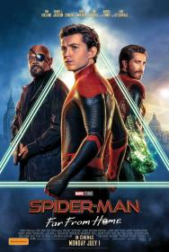 Spider-Man Far From Home (2019)[HQ DVDScr - Tamil Dubbed (HQ Aud) - x264 - 250MB]